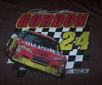 Vintage Style Jeff Gordon 24 Nascar T-shirt Large W/ Tag
