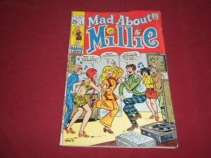Mad-About-Millie-1-marvel-1969-silver-age-3-0-gd-vg-comic-Lots-of-new-1-039-s-up