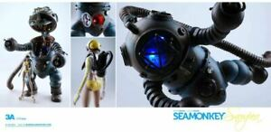 3 A ThreeA Kenny Wong et Ashley Wood 1/12 SeaMonkey snowpea sitrom pilote