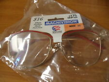 NEW LADIES READING GLASSES ROSE 22  - 1.75 Strength - MEGAVISION