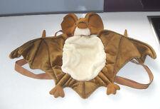 Vintage Bat Backpack Rucksack Bag WWF Goth Punk Halloween, Vampire Fancy Dress