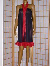 ADULT-Nylon-Kleid-Baby-Nachtkleid Dienstmädchenkleid Zofenkleid