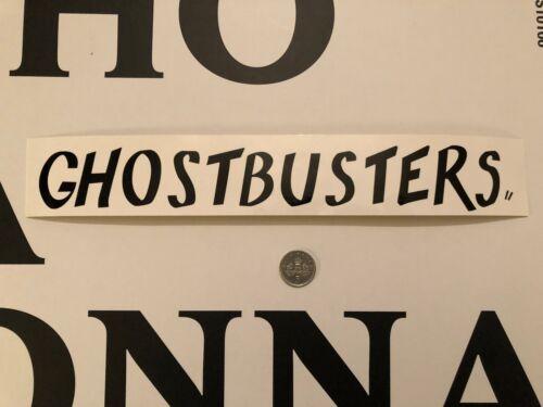 BLITZWAY ghostbusters ZEDDEMORE Ghostbusters Bannière loose échelle 1//6th