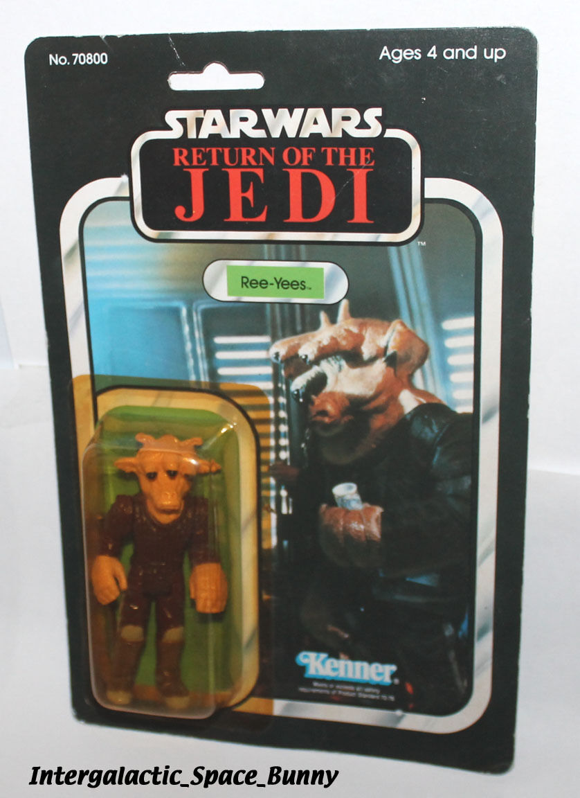 Kenner Star Wars ROTJ Ree-Yees Carded MOC Japan Tsukuda Return of the Jedi