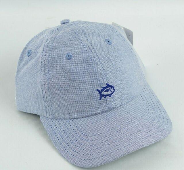 NWOT Southern Tide Skipjack White Blue  Strapback Hat Cap Size OSFA Adjustable