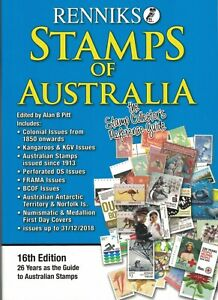 Renniks-STAMPS-of-AUSTRALIA-Catalogue-16th-Edition-NEW-in-2019