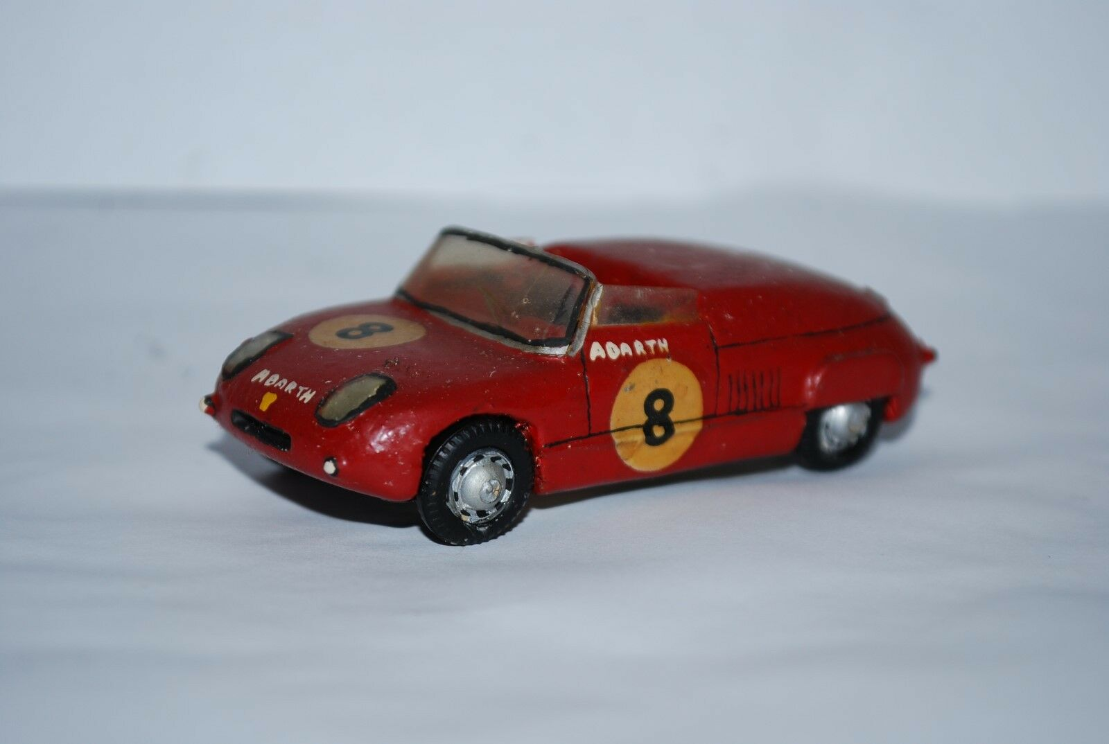 RD MARMANDE FIAT ABARTH 850 SPORT LE MANS 1961 SCALE 1 43 TRES RARE