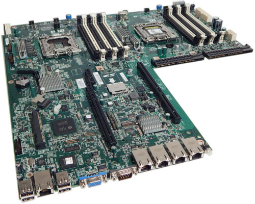 HP DL360E 380E Gen8 Enhanced System Board 647400-002 New Pull