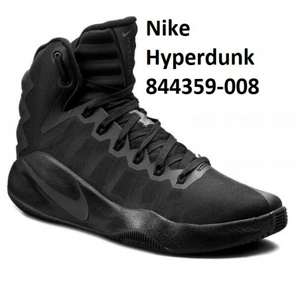 size 40 985bb e8b21 Nike Hyperdunk 2016 Men Basketball Shoes Black 844359-008 9.5 for sale  online   eBay