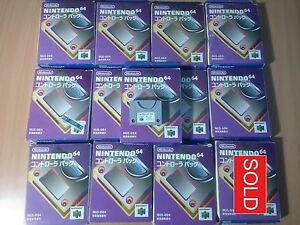 Details about N64 Official/Genuine Nintendo 64 Controller Game Pak (Boxed)  NUS-004 MEMORY PACK