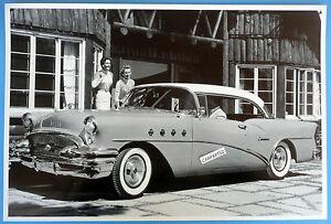 12 by 18 black white picture 1955 buick century 2 door for 1955 buick century 2 door hardtop