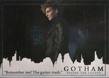 Gotham Season 2 Foil Parallel Base Card #35 ?Remember me? The gutter trash.?