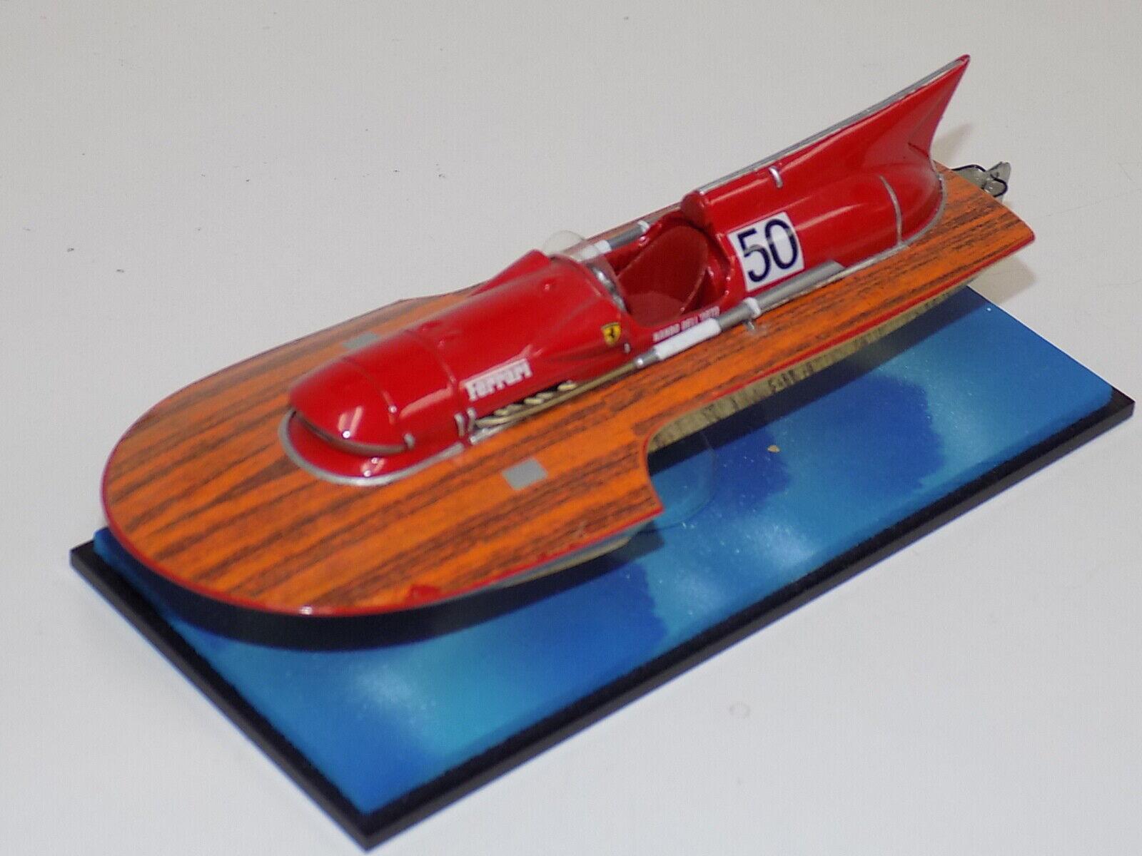 1 43 Ferrari  Arno XI hydroplane boat    Very Rare     GP042