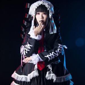 Danganronpa Dangan-ronpa Celestia Ludenberg Cosplay Costume Outfit Suit Dress