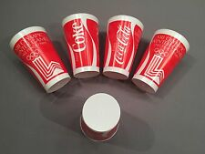 VINTAGE COCA-COLA COKE 1980 WINTER OLYMPICS LAKE PLACID PLASTIC CUP PHELPS MINT