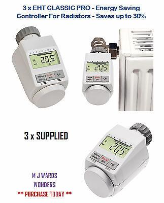 2 x ISE classique pro-Energy Saving Contrôleur pour radiateurs-Enregistre jusqu/'à 30/%