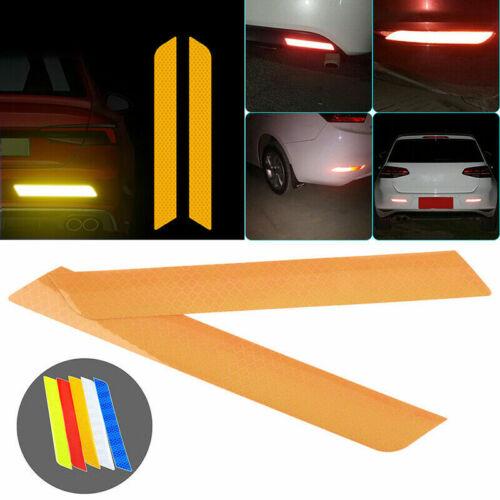 2//4pcs Car Bike Door Open Reflective Sticker Tape Safety Warning  Decal Mutil UK