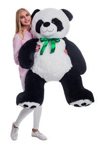Teddybaer-PANDA-150cm-100cm-Plueschbaer-Plueschtier-TeddyBear-Geschenk
