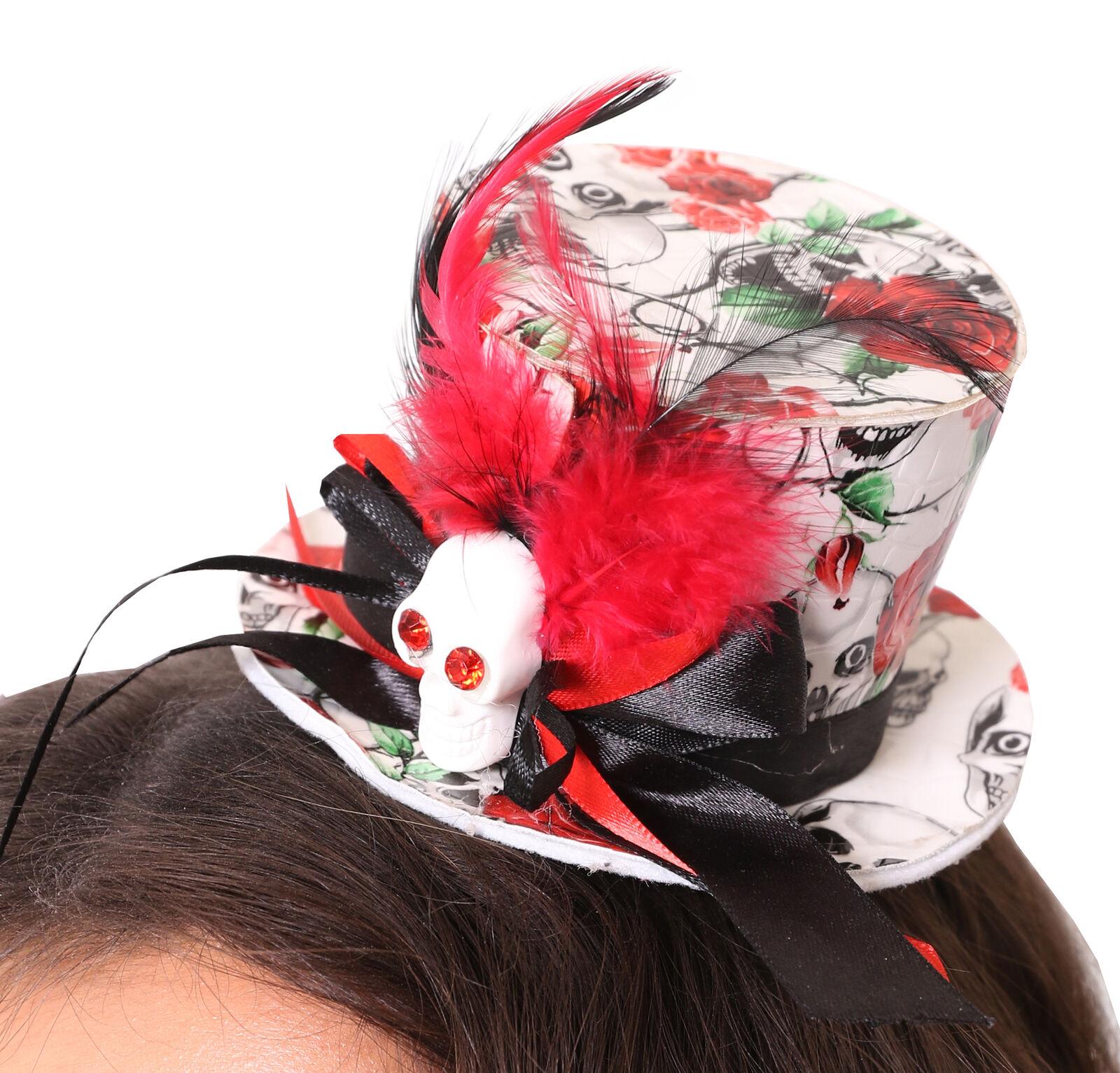 Red Devil Horns Fascia Per Capelli Satana Accessorio Halloween Donna Costume