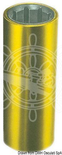 Osculati Gummibuchse + + + Messing 40 mm f3d210