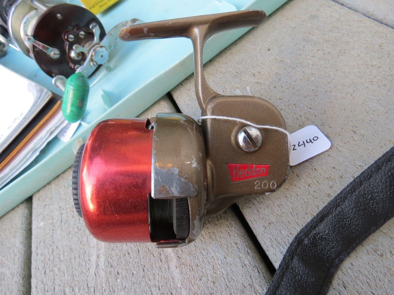 Vintage Heddon 200 fishing reel made  in USA (Lot)  outlet factory shop