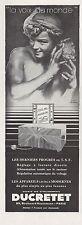 Publicité TSF Poste Radio Ducretet  photo vintage print ad  1930 - 2h