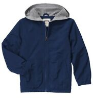 Gymboree Boys' Hooded Windbreaker Jacket Navy Blue Size Xs S