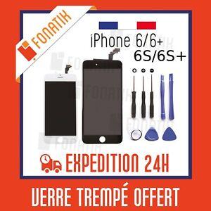 ECRAN-LCD-VITRE-TACTILE-RETINA-IPHONE-6-6-PLUS-6S-6S-PLUS-NOIR-BLANC-SUR-CHASSIS