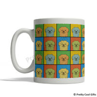Tibetan Spaniel Dog Mug - Cartoon Pop-art Coffee Tea Cup 11oz Ceramic