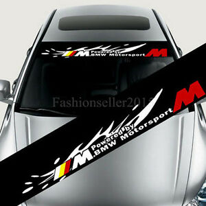 Reflective Front Windshield Decal Vinyl Car Stickers For BMW Bmw - Bmw car decals stickers