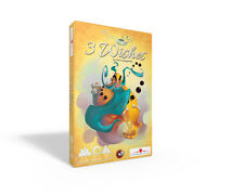 3 Wishes Card Game Passport Game Studios PGS 206 Genie Three Party