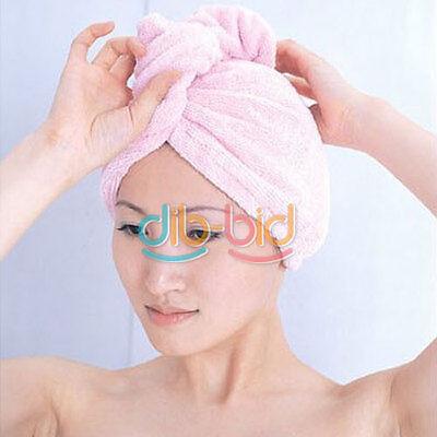 Lady's Magic Hair Drying Towel/Hat/Cap Quick Dry Bath OKNEW