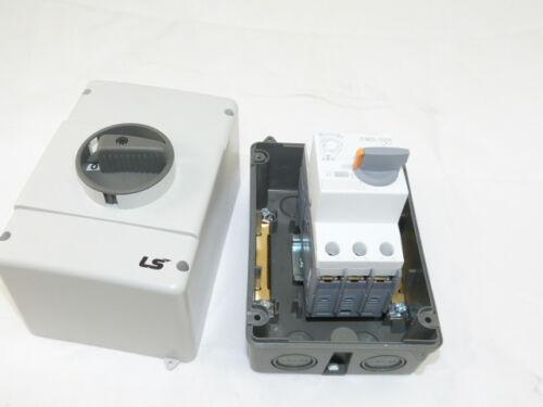 Manual Motor Starter Pump Starter 1 ~ 1.6 Amp Enclosed Type 4//4X NEW