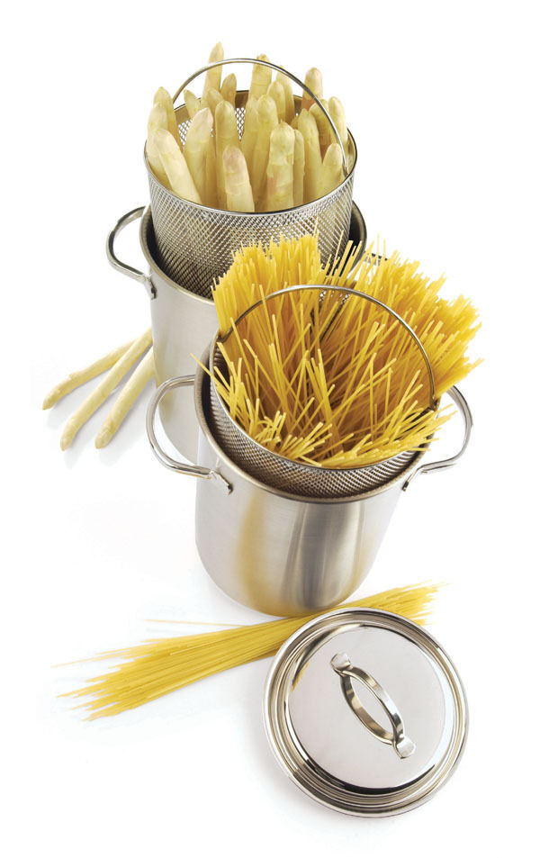 Demeyere Specialties Asparagus Pot Pasta Pot Pasta Pot Saucepan 152.2oz 5 1 2In