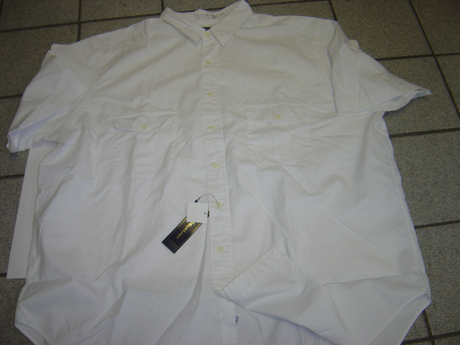 a83186123 NEW MENS RALPH LAUREN WHITE S COTTON SHIRT SIZE 4XLT BIG S  ndafmf3090-Casual Button-Down Shirts