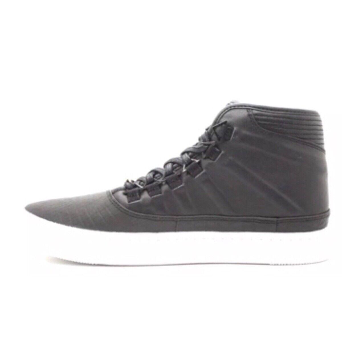 New Nike Air Jordan Black High Top Sneakers shoes SZ 9