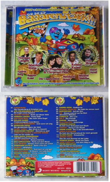 BÄRENSTARK Herbst 2011 - Helene Fischer, Udo Jürgens,... 43 Hits Sony DO-CD TOP