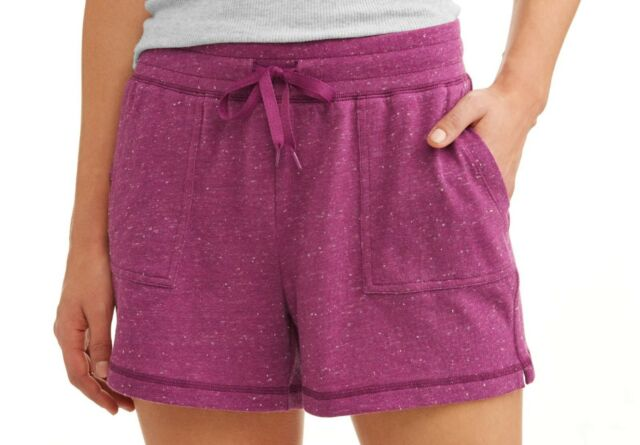 72c582f98d Athletic Works Women's Athleisure Gym Shorts Size X-Small 4-5 Passion Plum  NEW