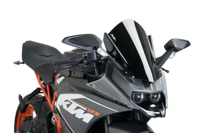 PUIG Z-RACING SCREEN FOR KTM RC390 14-20 BLACK