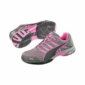 Puma-Safety-642915-Women-039-s-Celerity-Knit-Pink-Low-Steel-Toe-Work-Shoes