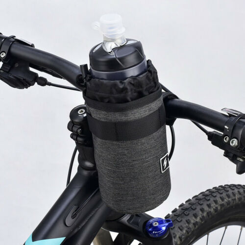 2Pcs Kettle Holder Pouch Bicycle Front Handlebar Hanging Water Bottle Bags