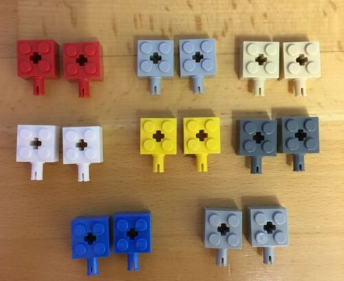 Lego 6232 Achsstein 2x2 mit Pin und Achsloch viele Farbe  große Auswahl 71