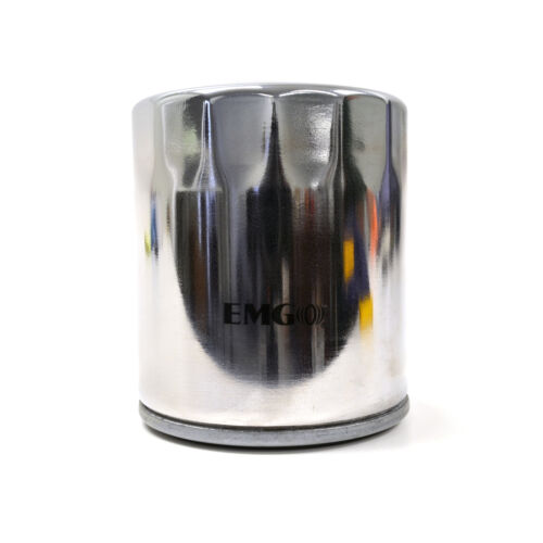 Chrome Spin On Oil Filter For Harley Davidson FXRC Low Rider 1340 87
