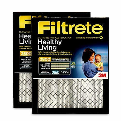 Nordic Pure 16x30x1 MPR 1500 Healthy Living Ultra Allergen Reduction Replacement AC Furnace Air Filters 3 Pack