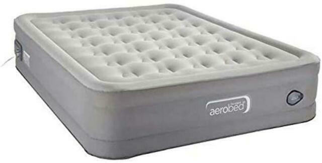 AeroBed Comfort Lock Air Mattress, Gray - Queen