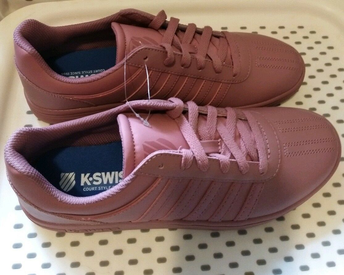 Damenschuhe Gold K-Swiss Court Chesterfield Sneakers - Rose Gold Damenschuhe 55a7f6