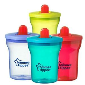 Tommee-Tippee-Essential-Basics-First-Beaker-Free-Flow-Cup-200ml-4m