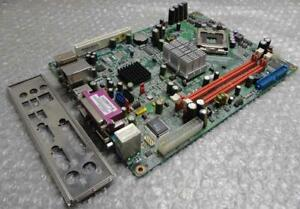 Original-Authentique-Nec-Q965T-NP-Rev-1-0D-DDR-2-PCI-Carte-Mere-amp-I-O-Plaque