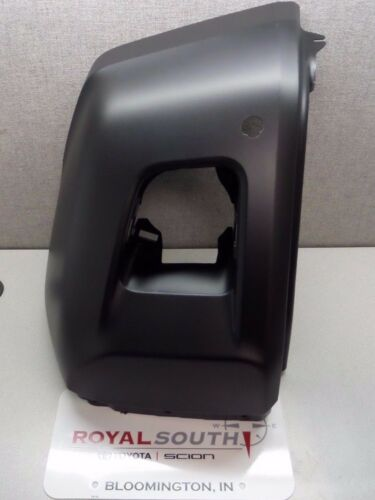Toyota Tundra 14-17 Unpainted Right Front Bumper End Cap w// Sonar Genuine OEM