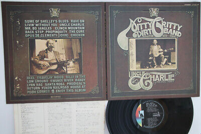 Lp Gf Nitty Gritty Dirt Band Uncle Charlie Lp80126 Liberty